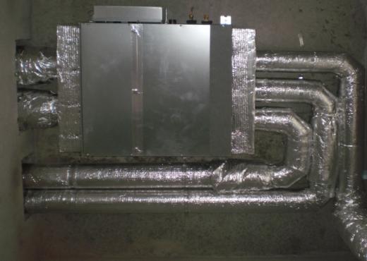 Вентиляция канальным кондиционером